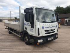 WHITE IVECO EUROCARGO 75E16S S-A. ( DIESEL ) Reg : YB64 KXN, Mileage : 188818 Details: WITH 1 KEY,