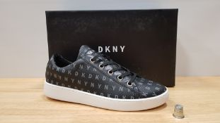 4 X BRAND NEW DKNY BINNA LACE UP SNEAKERS UK SIZE 3.5