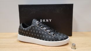 4 X BRAND NEW DKNY BINNA LACE UP SNEAKERS UK SIZE 3.5 AND 4.5