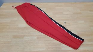 11 X BRAND NEW JACK WILLS GLENBROOK RED TRACKPANTS SIZE 6 AND 10 RRP £49.95 (TOTAL RRP £549.45)