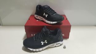4 X BRAND NEW UNDER ARMOUR HOVR BLUETOOTH TRAINERS (MAP YOUR RUN) UK SIZE 8.5