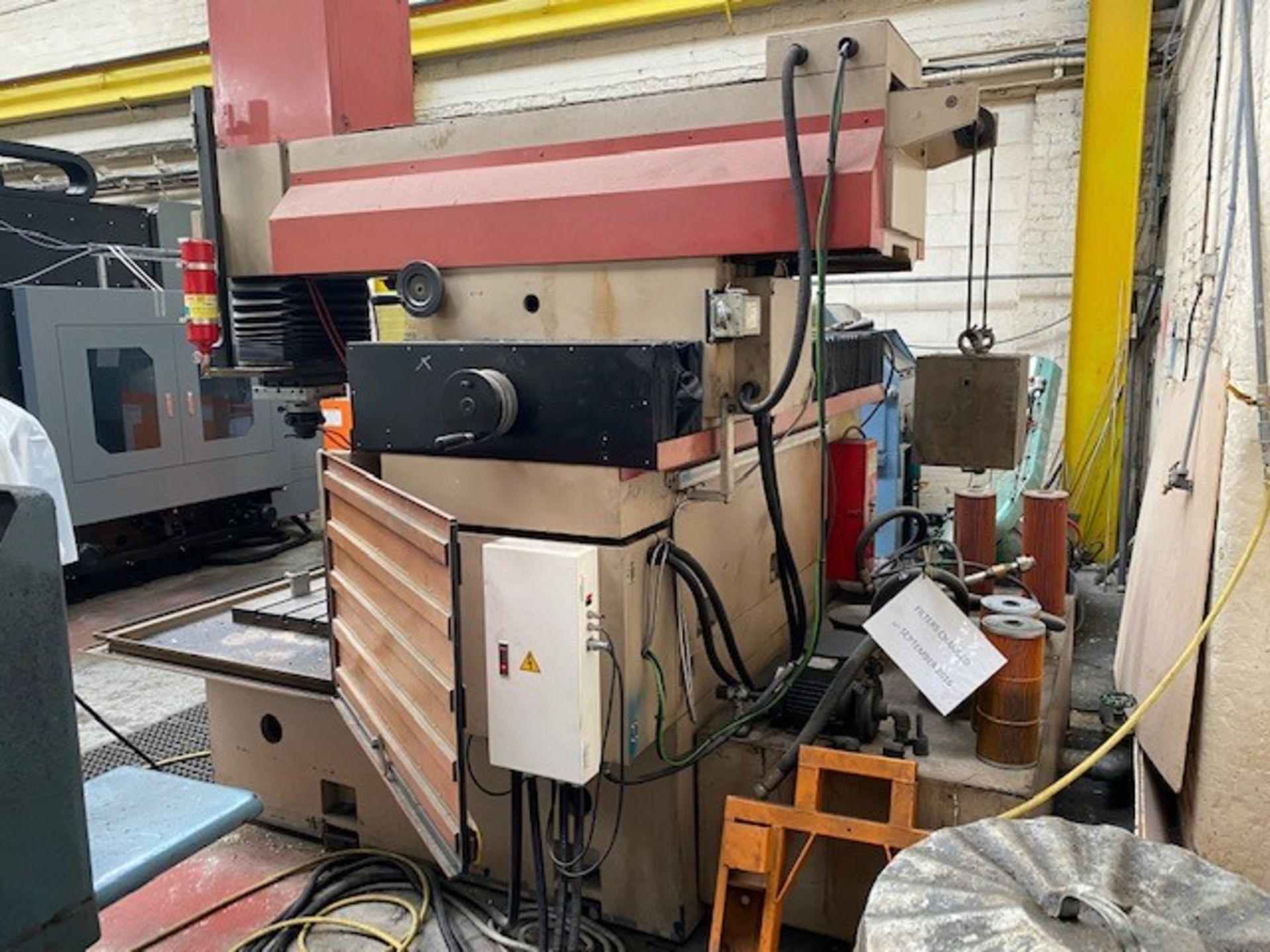 CLEANCUT EDM650AF EDM MACHINE - FIXED BED WITH JS 60A CONTROLLER. MODEL: EDM650AF SERIAL No: - Image 5 of 5