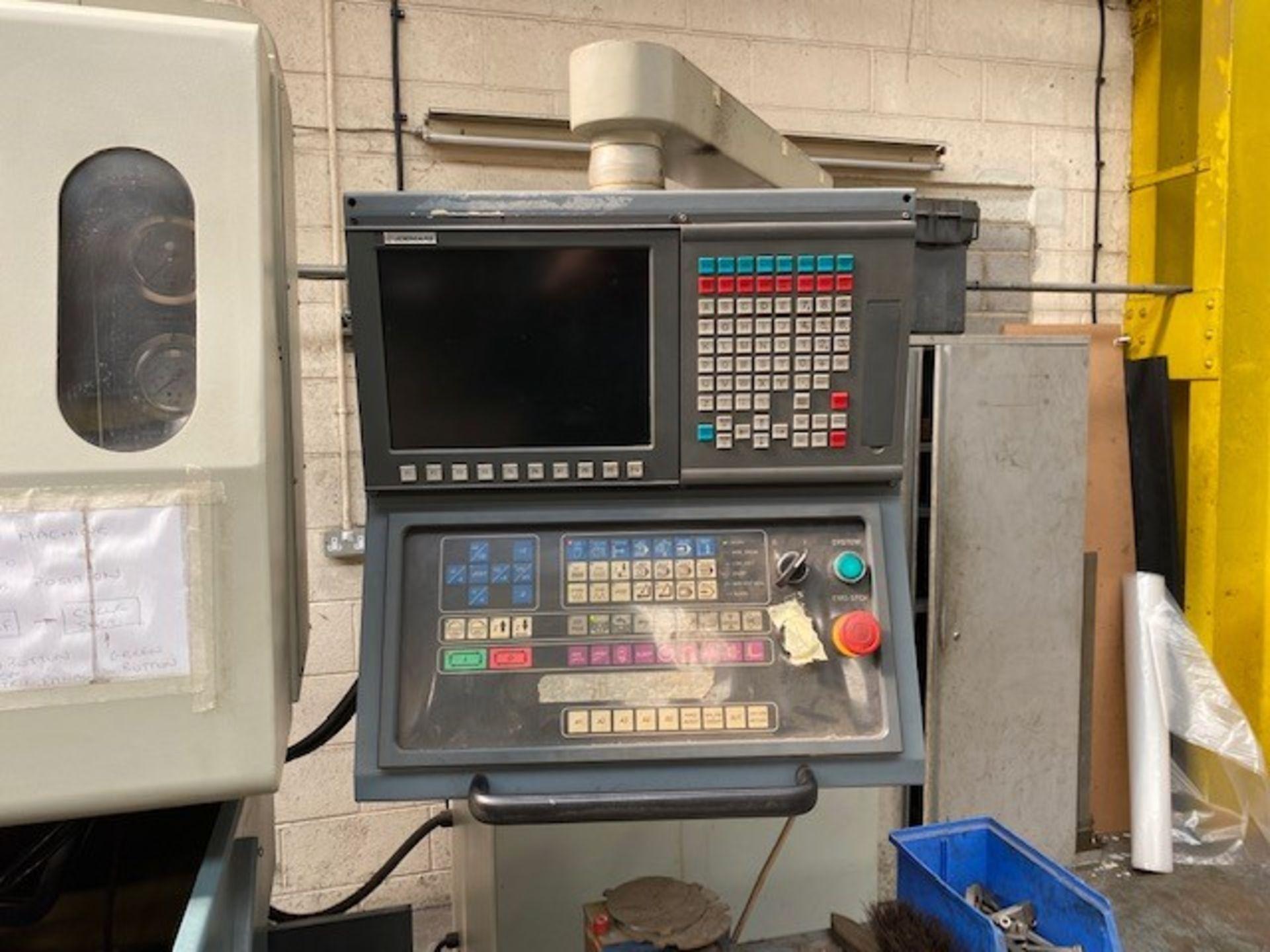JOEMARS EURO SPARK EROSION CNC/EDM MACHINE WITH JOEMARS AL-5 CONTROLLER AND HABOR CHILLER TANK - Image 2 of 2