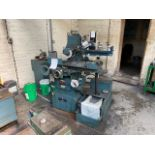 JONES AND SHIPMAN HORIZONTAL SURFACE GRINDING MACHINE WITH MAGNETIC BED MODEL: 540