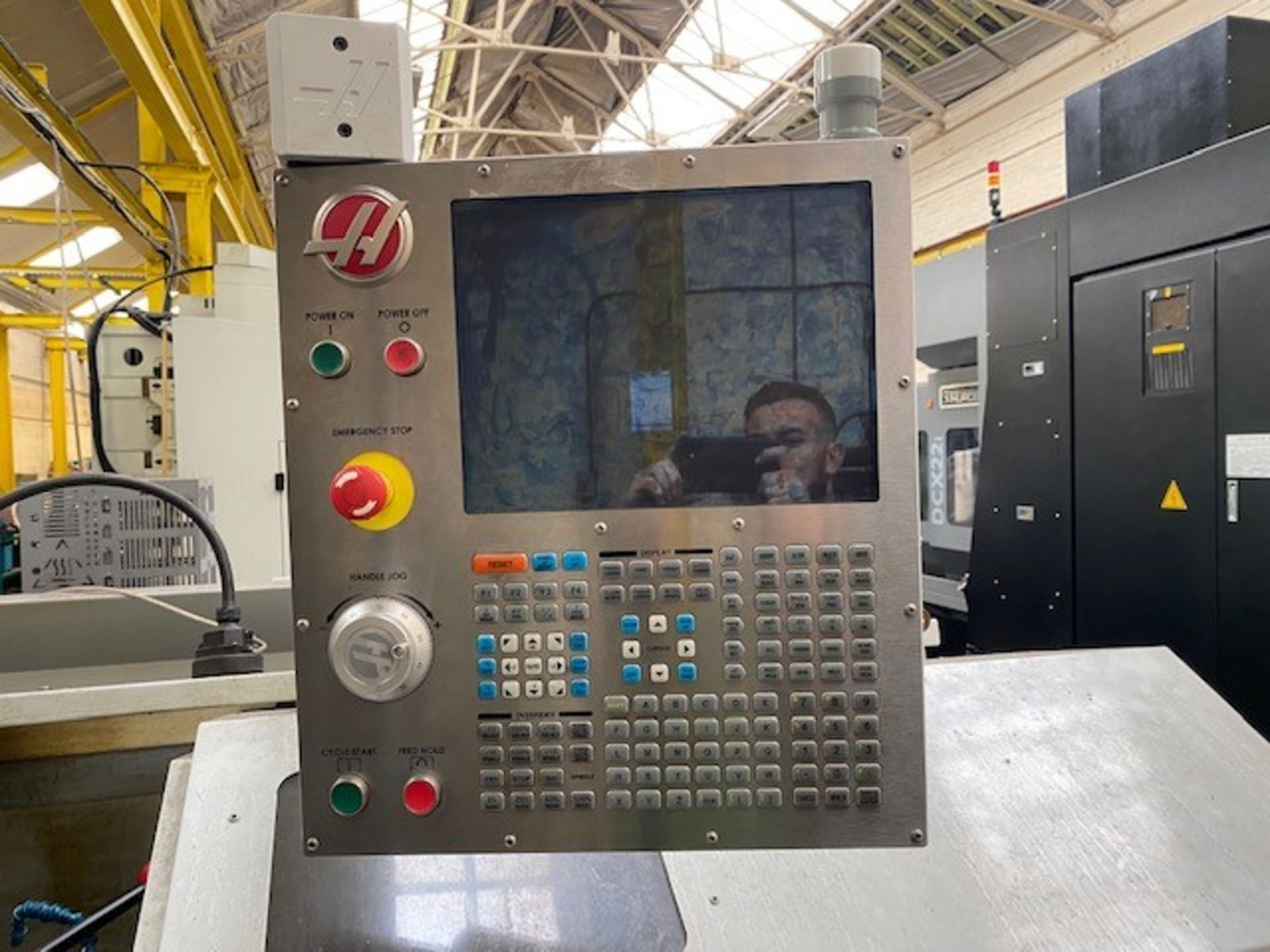 HASS ENCLOSED 2-AXIS CNC TOOLROOM LATHE WITH HASS CONTROLLER MODEL: TL-2 SERIAL NO: 3089388 DMF: - Image 5 of 5