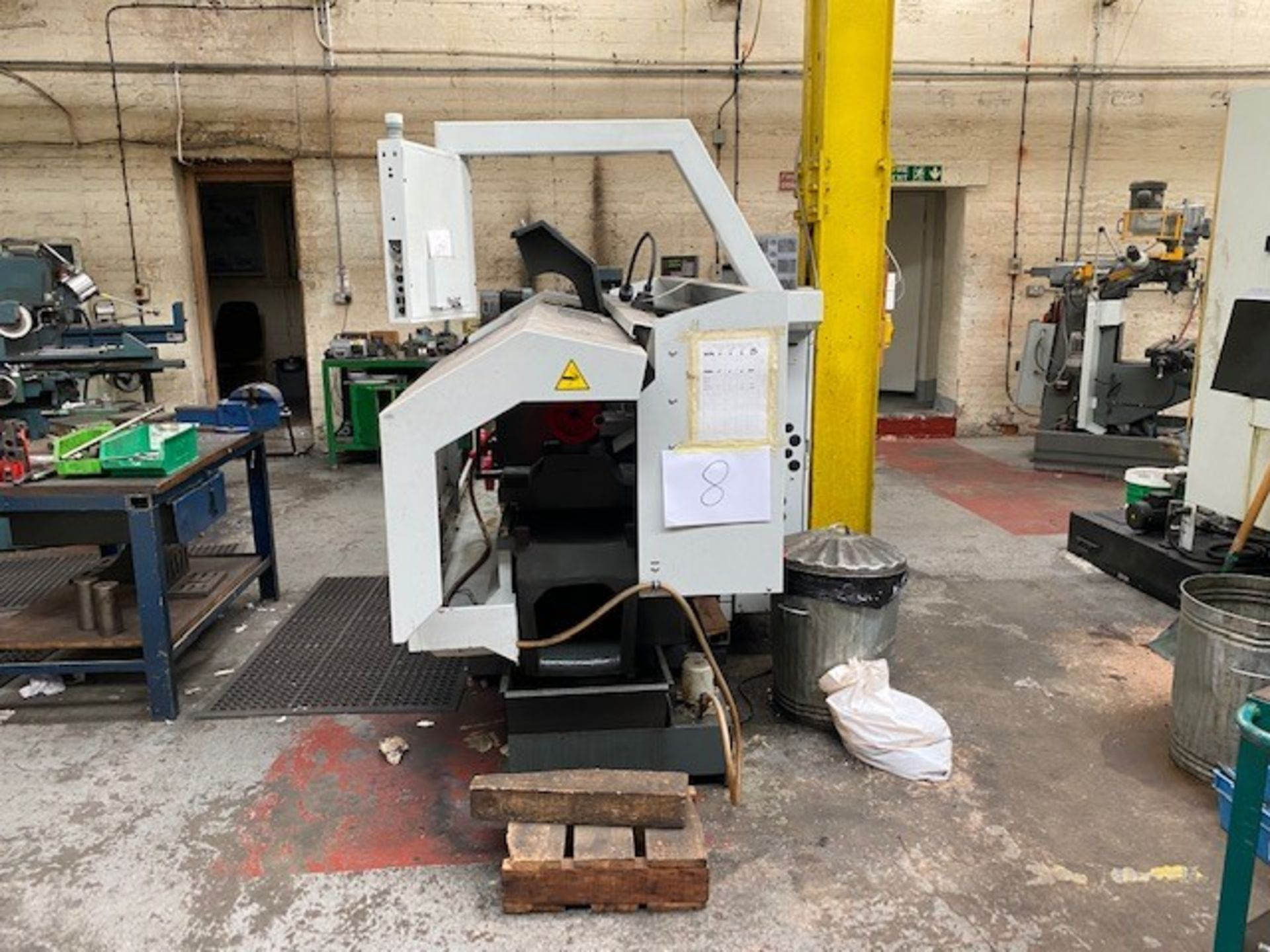 HASS ENCLOSED 2-AXIS CNC TOOLROOM LATHE WITH HASS CONTROLLER MODEL: TL-2 SERIAL NO: 3089388 DMF: - Image 3 of 5