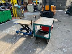 HYDRAULIC LIFTING TABLE & MOBILE TROLLEY