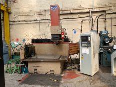 CLEANCUT EDM650AF EDM MACHINE - FIXED BED WITH JS 60A CONTROLLER. MODEL: EDM650AF SERIAL No: