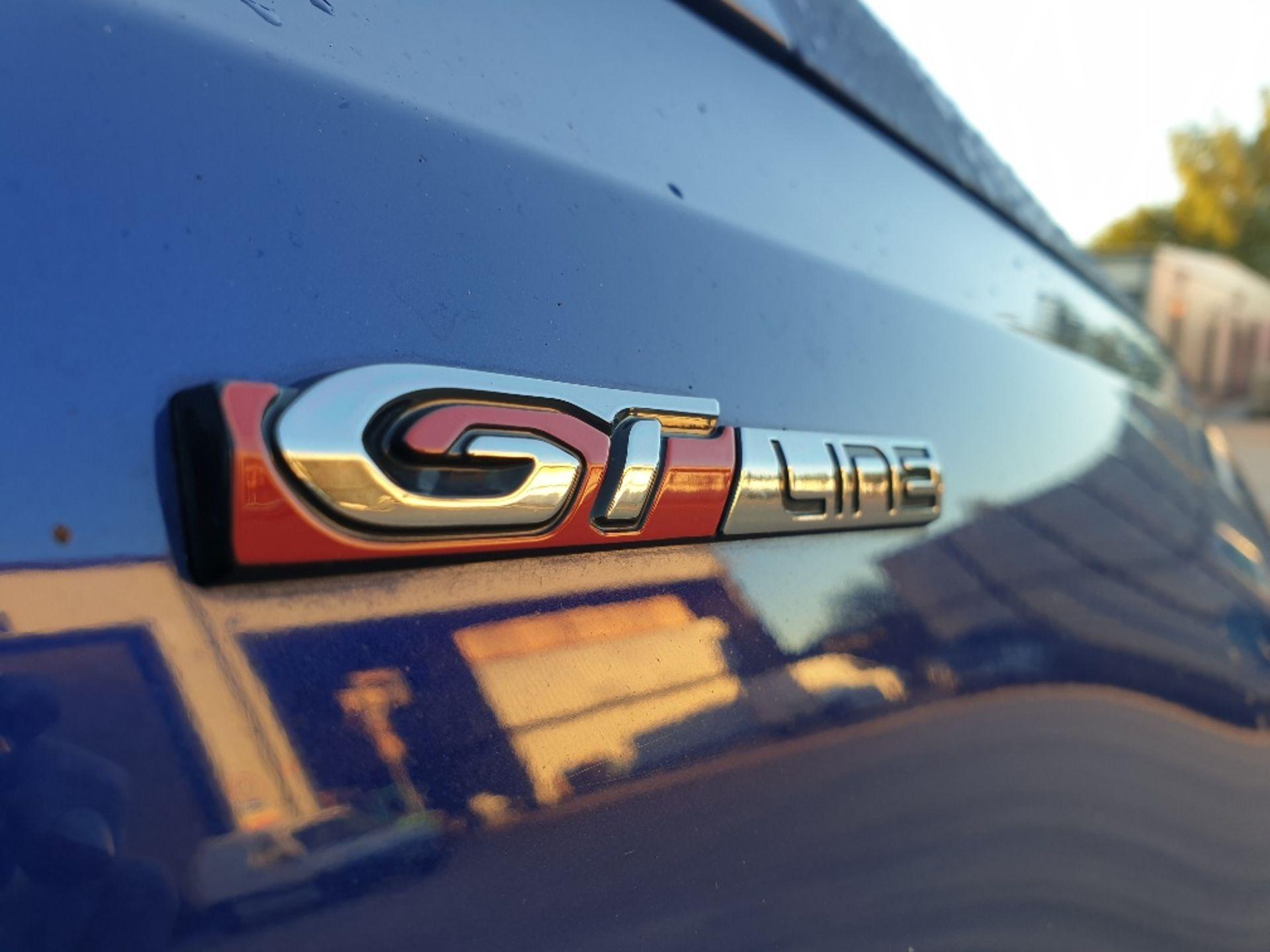 BLUE PEUGEOT 308 GT LINE. Reg : MJ66 UCN, Mileage : 14470 Details: WITH 2 X KEYS WITH V5 MOT UNTIL - Image 10 of 12
