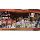 LARGE QUANTITY ASSORTED LOT CONTAINING HARRY POTTER CHILDS COSTUME KIT, HARRY POTTER FIGURES,