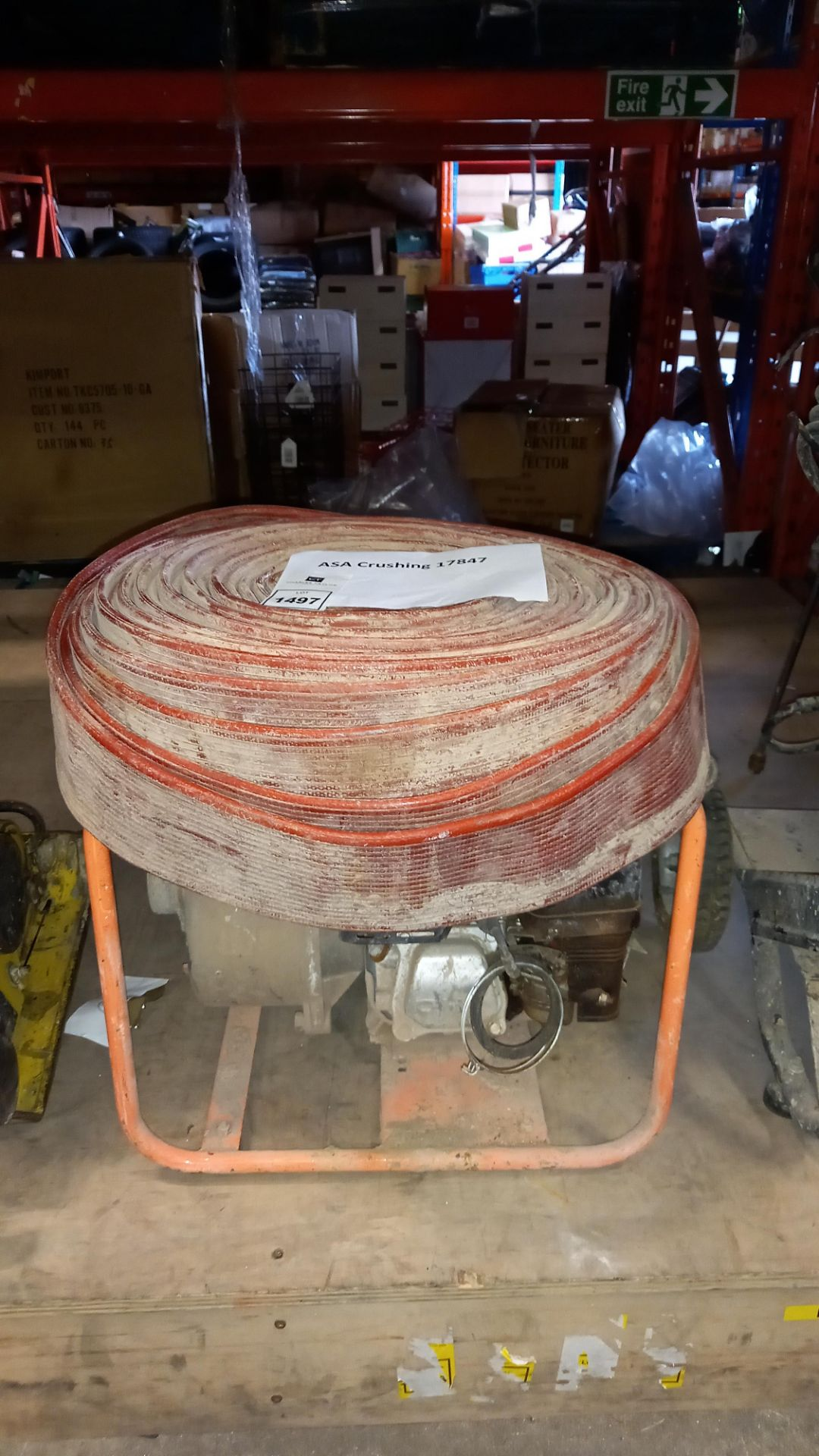 1 X HONDA GX160 PETROL WATER PUMP WITH HOSE