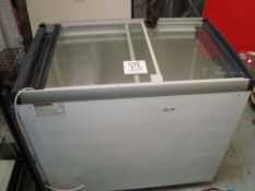 A Liebherr GTE3352 display ice cream freezer