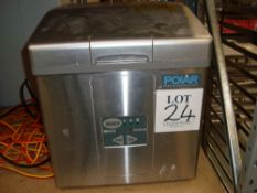 A Polar countertop ice machine