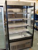 A Polar GH268 chilled display shelving unit Serial No. 6266614