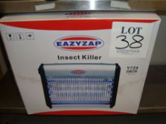 An Easyzap electric insect killer (boxed, unused)