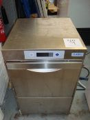 A Class Eq stainless steel under counter glass washing machine