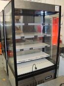 A Polar GH268 chilled display shelving unit Serial No. 6266618