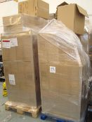 Four pallets of Sabert HOT78130 microwavable containers