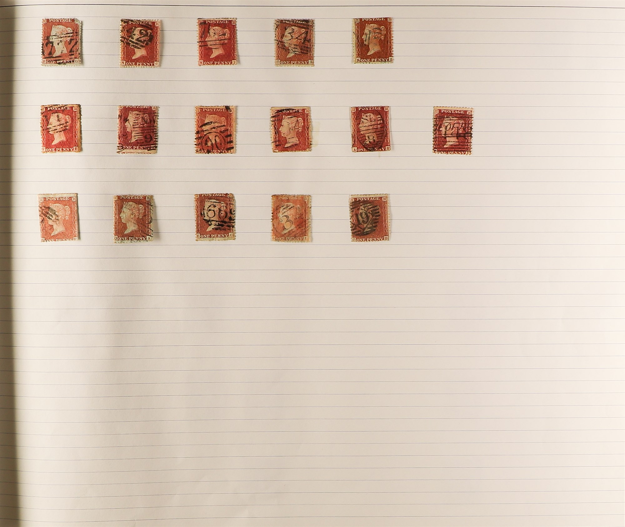 GREAT BRITAIN 1840-1999 COLLECTION in a ledger album, with 1840 1d blacks (2, fair), 1d red plates - Image 2 of 5