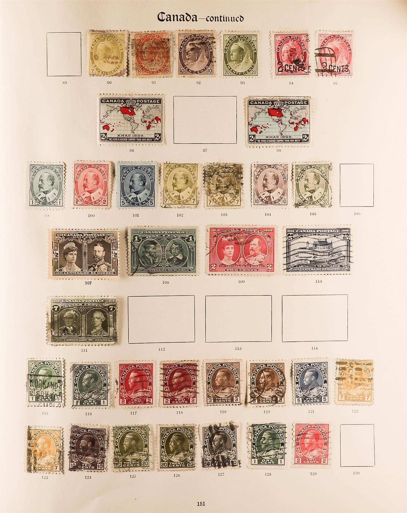 COLLECTIONS & ACCUMULATIONS BRITISH COMMONWEALTH IN A PAIR OF IMPERIAL ALBUMS TO 1935 with - Image 7 of 16