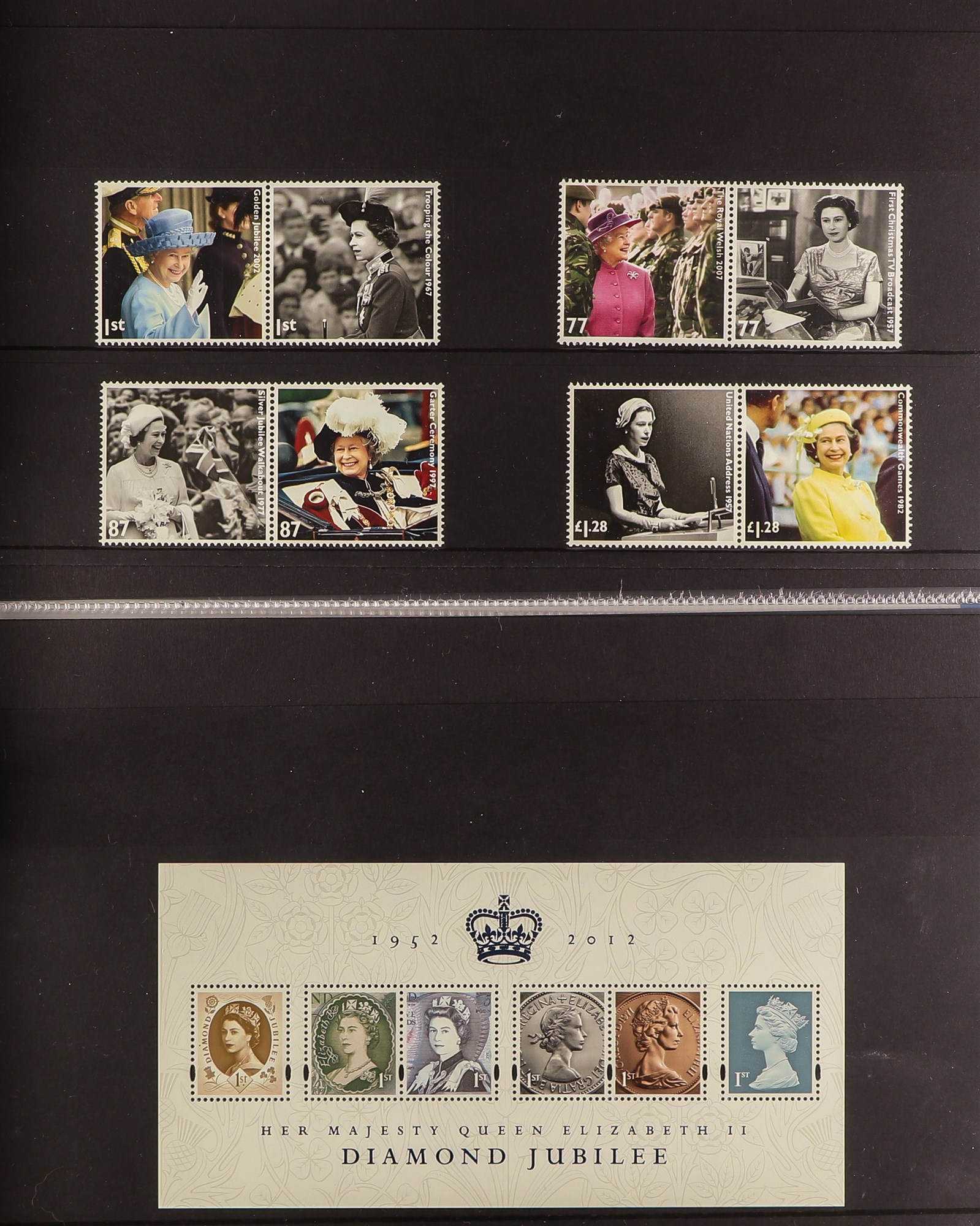 GB.ELIZABETH II 1993 - 2012 COMPREHENSIVE MINT COLLECTION which includes the commemorative stamp - Image 4 of 6