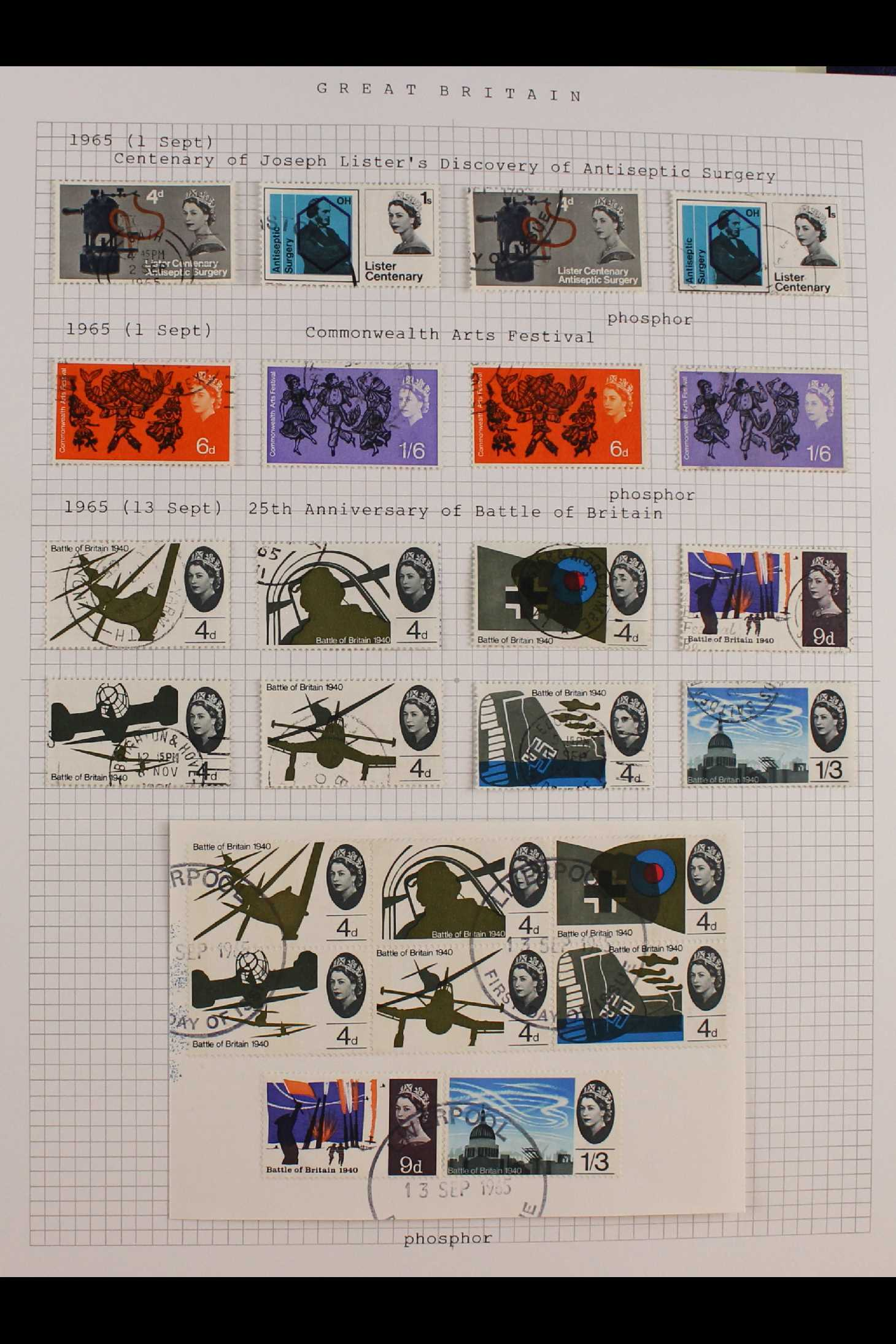 GB.ELIZABETH II 1953-1999 fine used collection in two albums with extensive Wilding & - Image 4 of 18