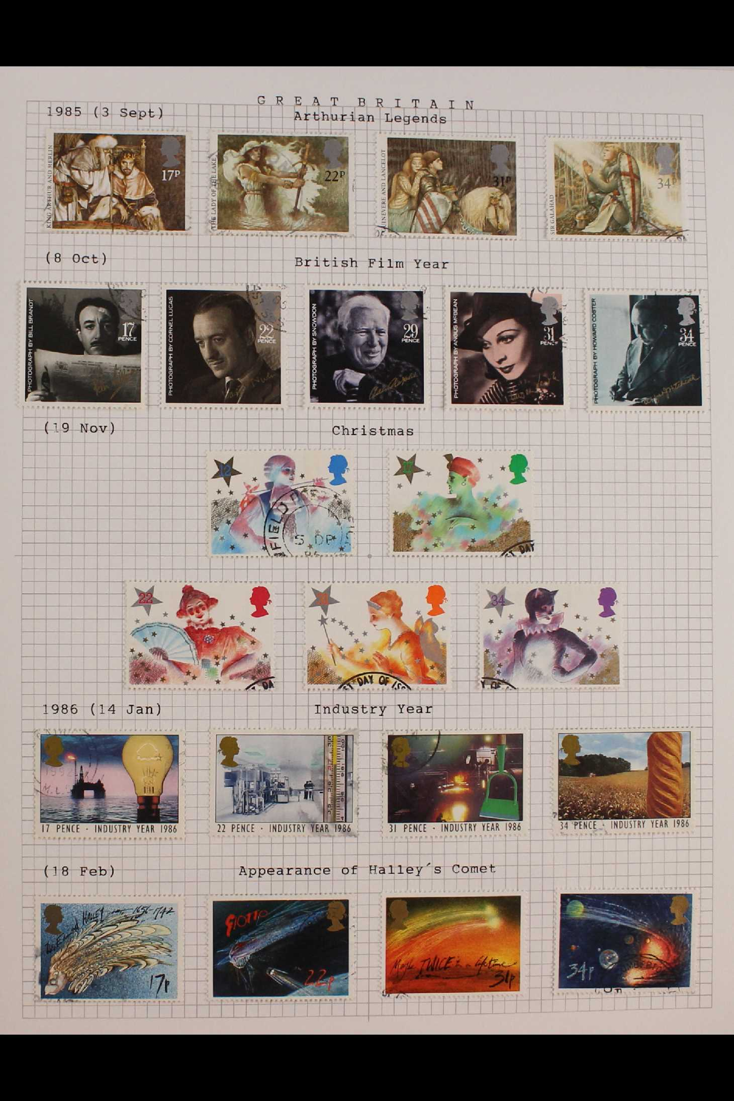 GB.ELIZABETH II 1953-1999 fine used collection in two albums with extensive Wilding & - Image 7 of 18