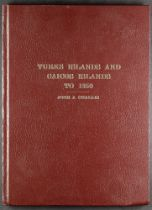 TURKS ISLANDS AND CAICOS ISLANDS TO 1950 book by John J. Challis, 1983, number 35 of an edition of