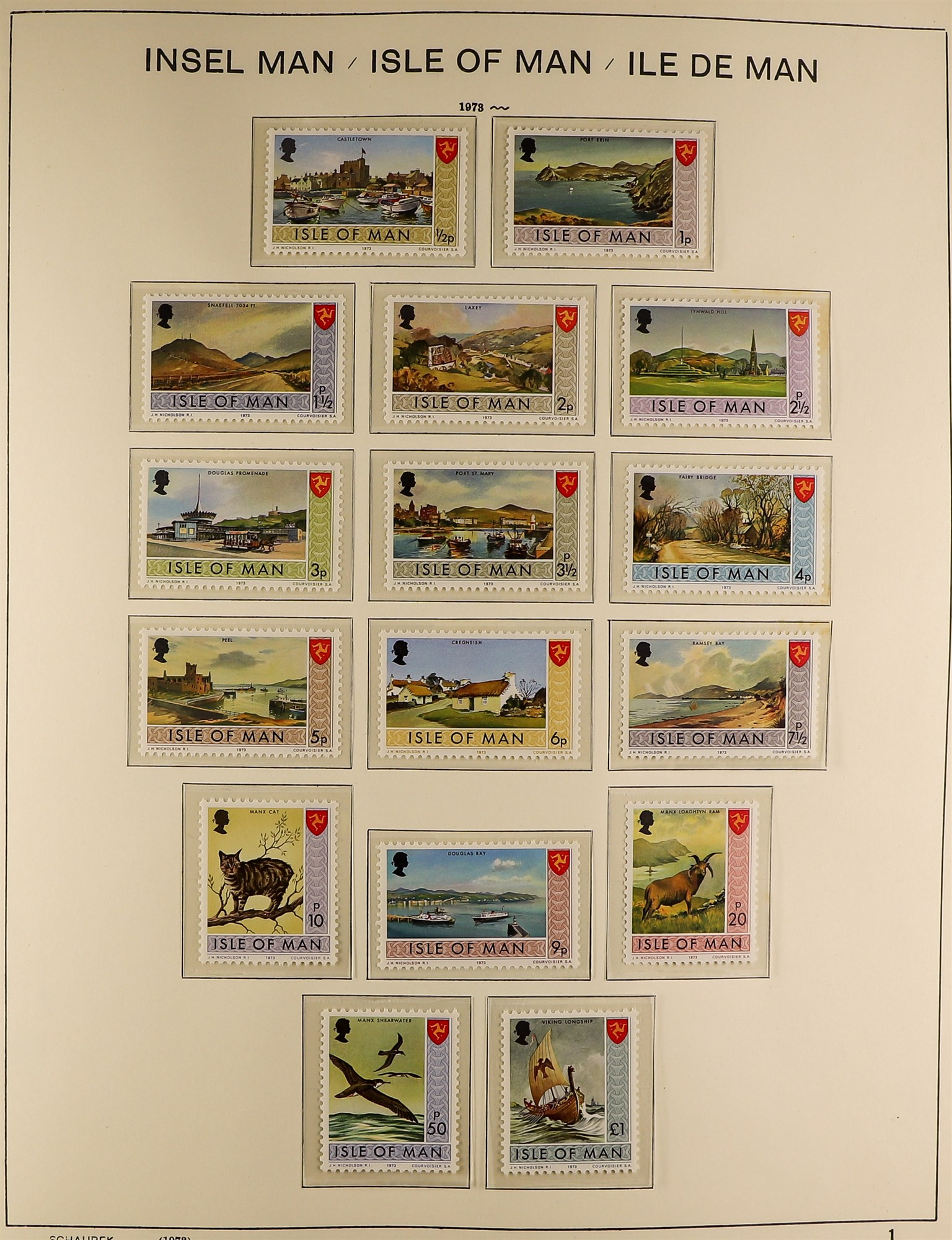 GB.ISLANDS CHANNEL ISLANDS AND ISLE OF MAN COLLECTIONS 1969-98 never hinged mint collections in - Image 5 of 6