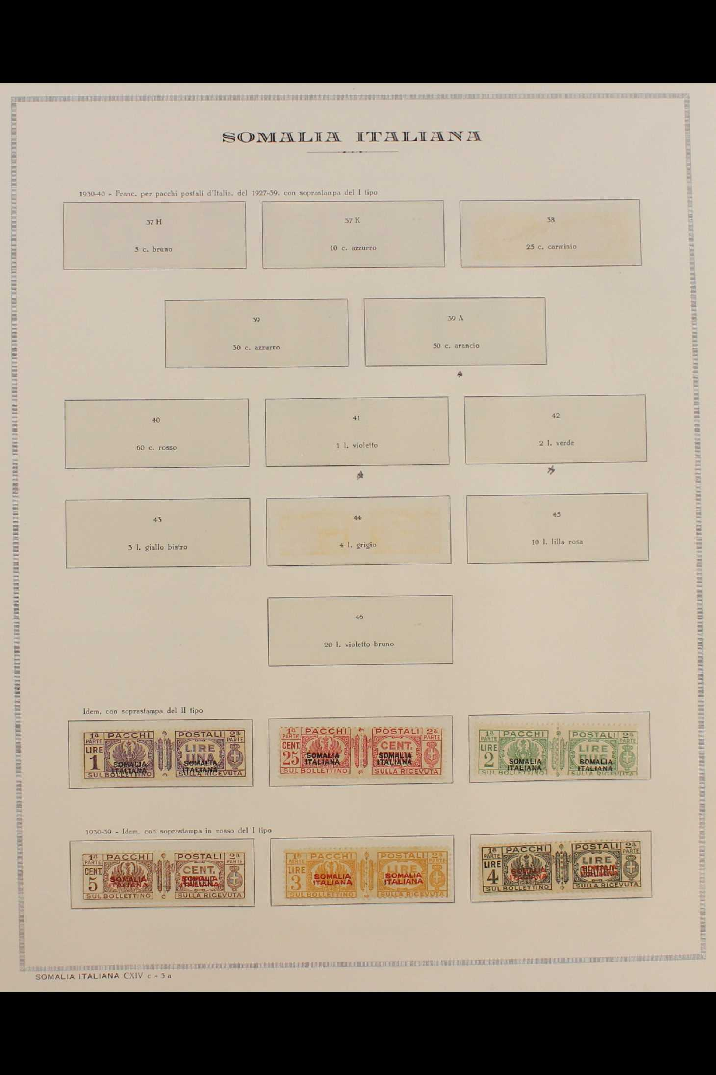 ITALIAN COLONIES SOMALIA 1922-1940 fine mint collection incl.1922 surcharged set, 1923 Fide set NHM, - Image 17 of 18