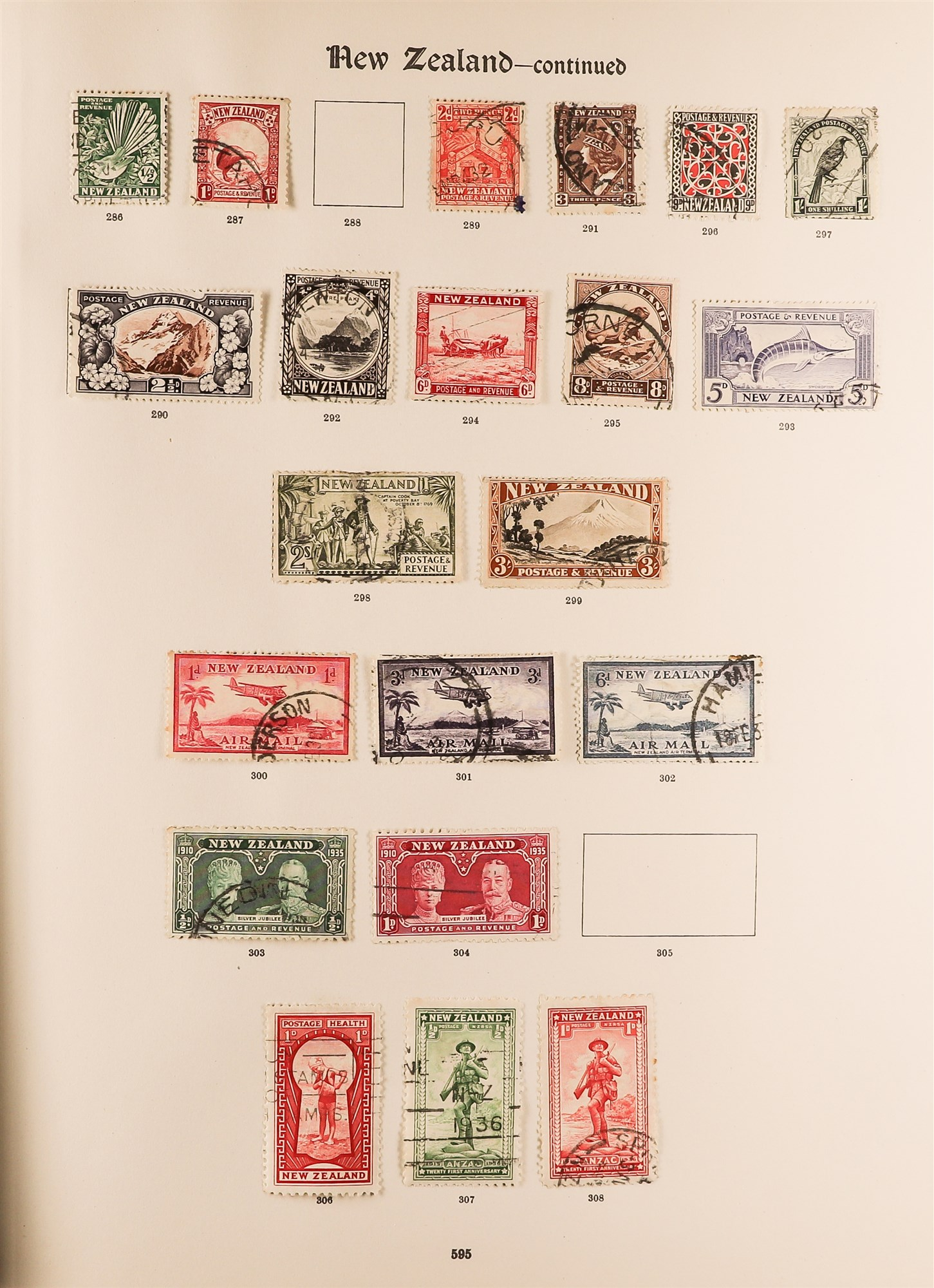 COLLECTIONS & ACCUMULATIONS BRITISH COMMONWEALTH IN A PAIR OF IMPERIAL ALBUMS TO 1935 with - Image 13 of 16