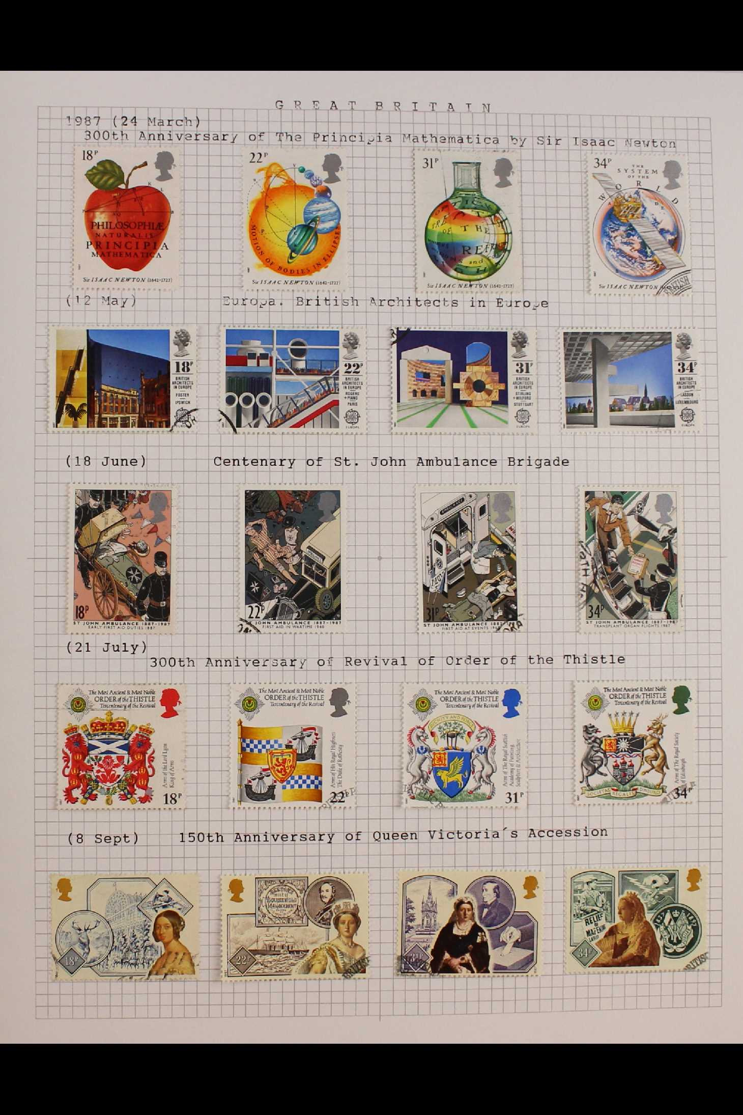 GB.ELIZABETH II 1953-1999 fine used collection in two albums with extensive Wilding & - Image 9 of 18