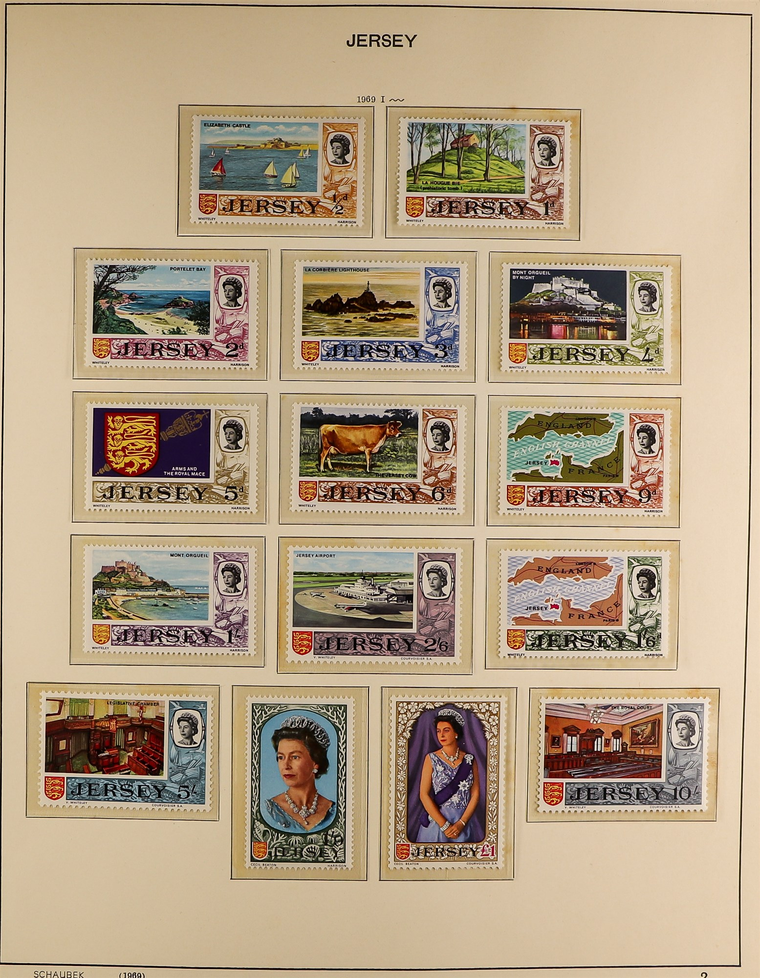 GB.ISLANDS CHANNEL ISLANDS AND ISLE OF MAN COLLECTIONS 1969-98 never hinged mint collections in - Image 3 of 6