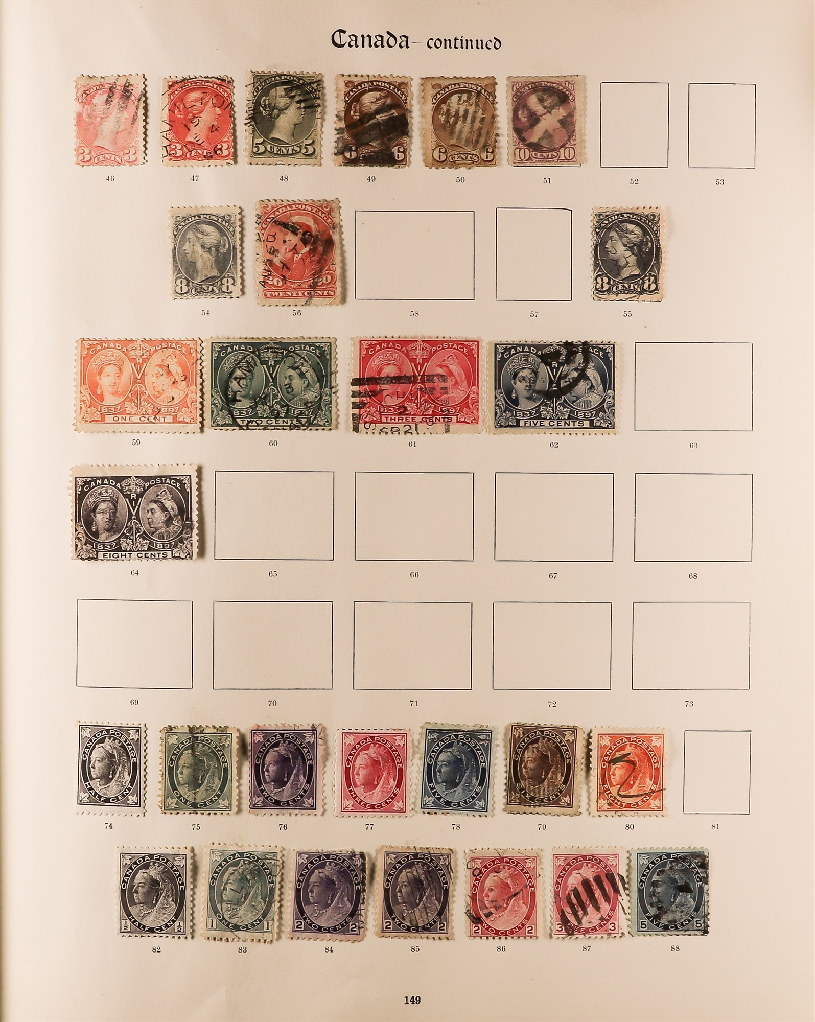 COLLECTIONS & ACCUMULATIONS BRITISH COMMONWEALTH IN A PAIR OF IMPERIAL ALBUMS TO 1935 with - Image 6 of 16