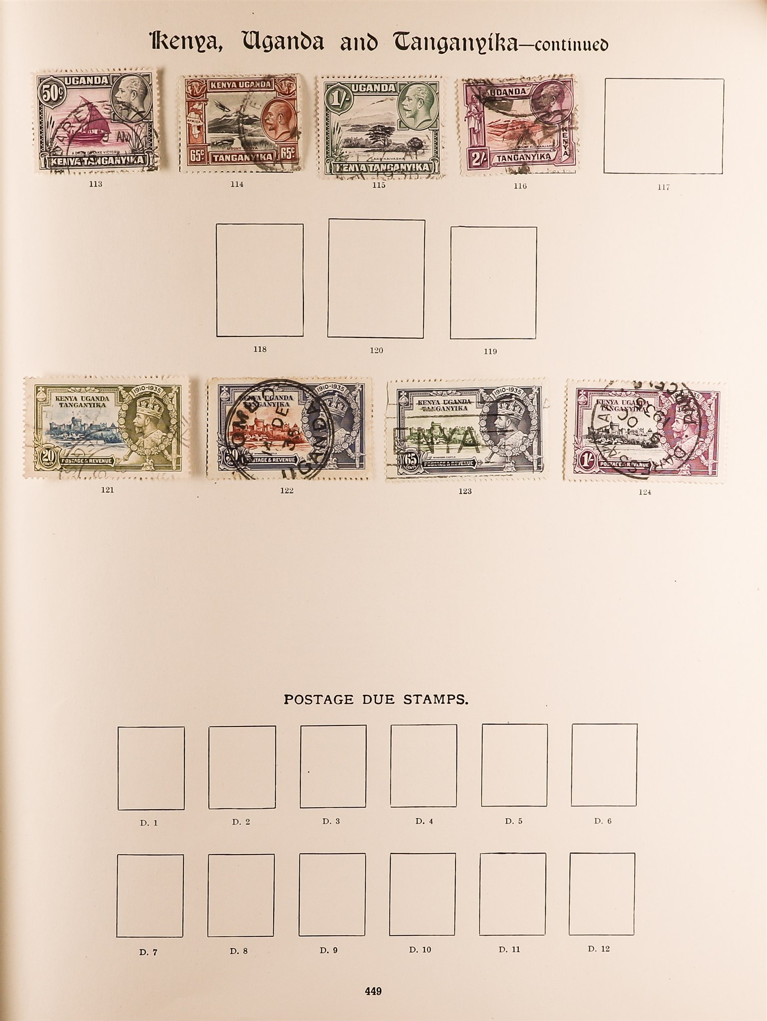 COLLECTIONS & ACCUMULATIONS BRITISH COMMONWEALTH IN A PAIR OF IMPERIAL ALBUMS TO 1935 with - Image 11 of 16