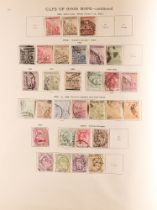 COLLECTIONS & ACCUMULATIONS BRITISH COMMONWEALTH TO 1935 IN A NEW IDEAL ALBUM generally used Alwar