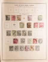 COLLECTIONS & ACCUMULATIONS PAIR OF IDEAL ALBUMS TO 1919 of mint and used issues (and a few later