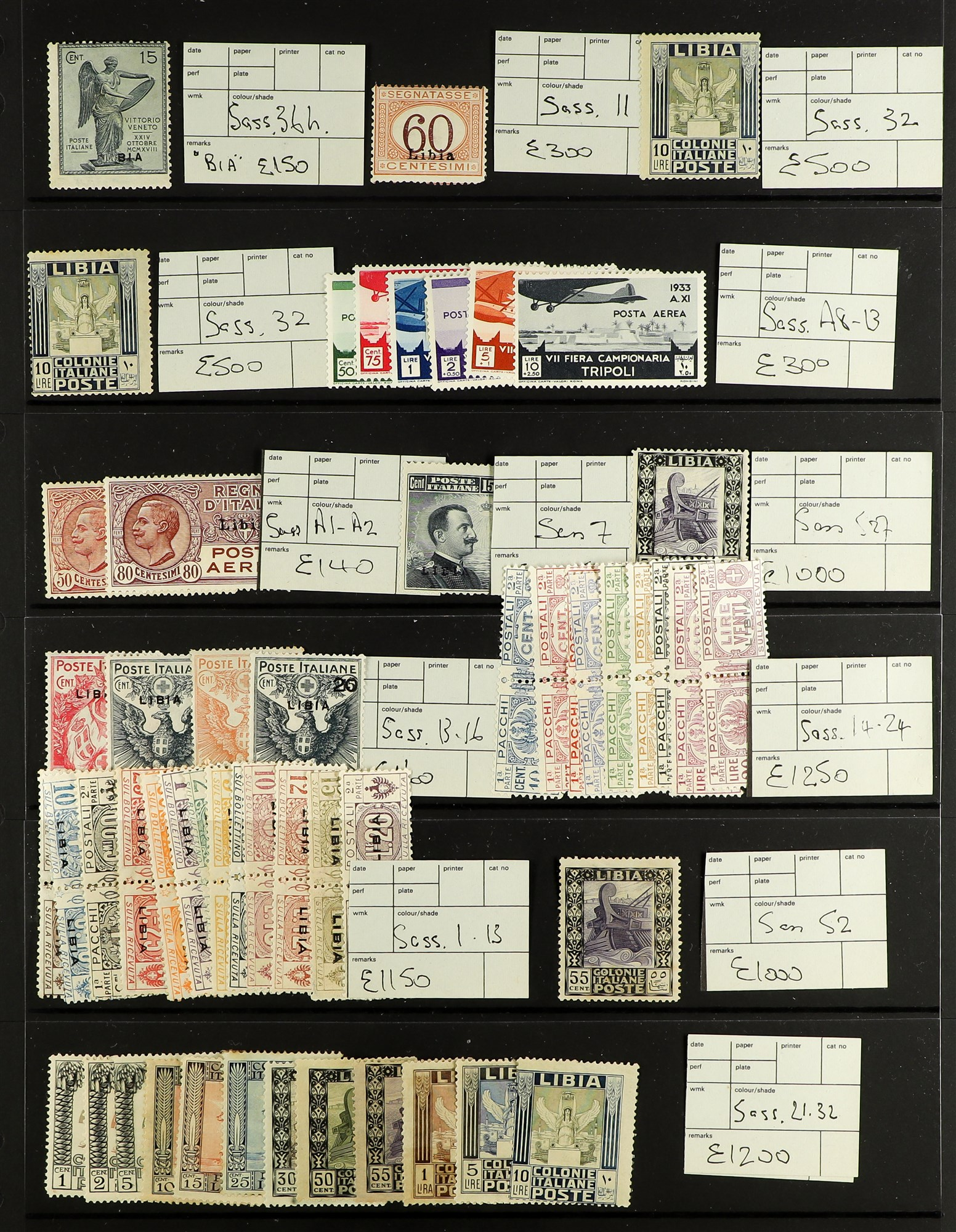 ITALIAN COLONIES LIBYA 1912-1941 Mint only collection of complete sets and better items including - Image 4 of 5