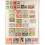 NEW HEBRIDES 1908-80 COLLECTION of mint and fine used with ENGLISH incl. 1908-10 overprints to 1s
