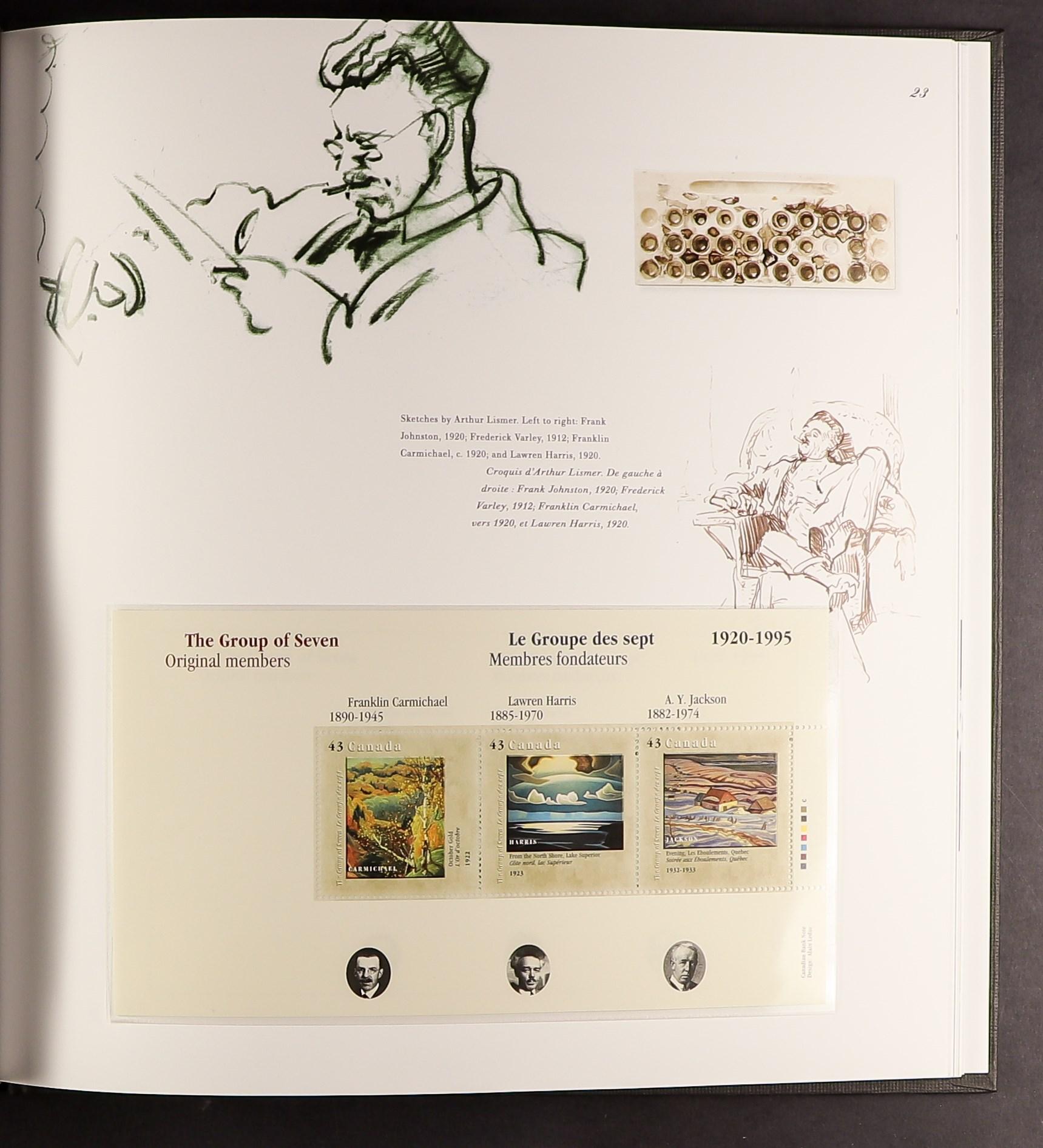 CANADA YEAR BOOKS 1976, 1978-82, 1984, 1986, 1987-99, fine. (21 books) - Image 3 of 3