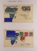 COLLECTIONS & ACCUMULATIONS IMPERIAL AIRWAYS COVERS 1930-34 TO OR FROM AFRICA a very extensive