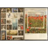 GB.ELIZABETH II YEARPACKS 2008 - 2014. 7 Royal Mailyearpackswhich include the commemorative stamps