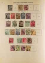COLLECTIONS & ACCUMULATIONS BRITISH EMPIRE IN A NEW IDEAL ALBUM to 1935, incl. Great Britain 1840 1d