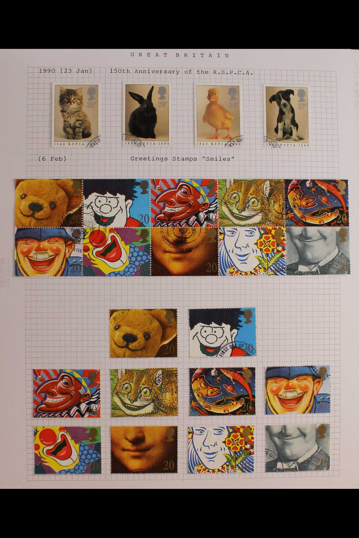 GB.ELIZABETH II 1953-1999 fine used collection in two albums with extensive Wilding & - Image 10 of 18