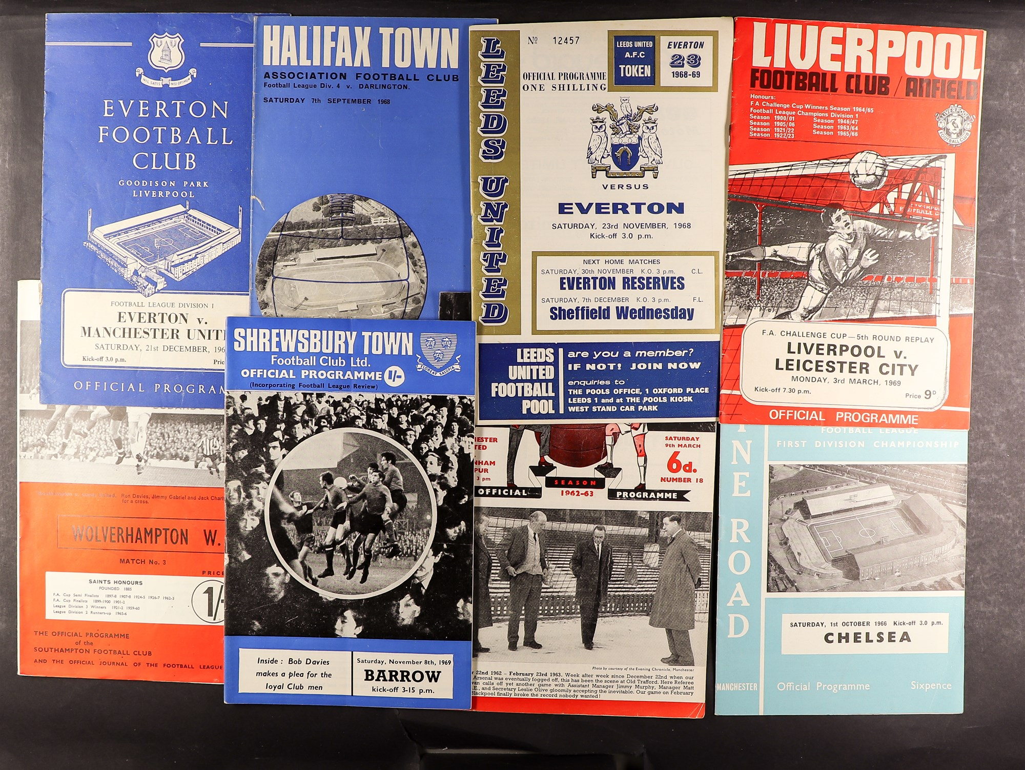 FOOTBALL PROGRAMMES - 1960's SELECTION. A range of clubs with a stronger representation of Everton, - Image 3 of 4