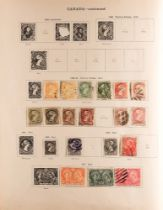 COLLECTIONS & ACCUMULATIONS BRITISH EMPIRE MAINLY USED COLLECTION IN A NEW IDEAL ALBUM TO 1936