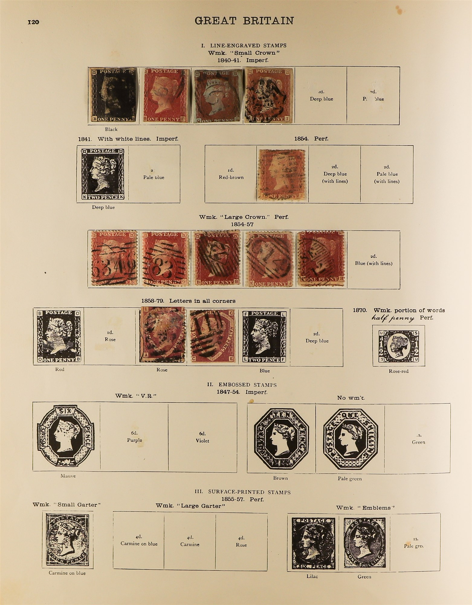 COLLECTIONS & ACCUMULATIONS BRITISH EMPIRE IN A NEW IDEAL ALBUM to 1935, incl. Great Britain 1840 1d - Image 2 of 6