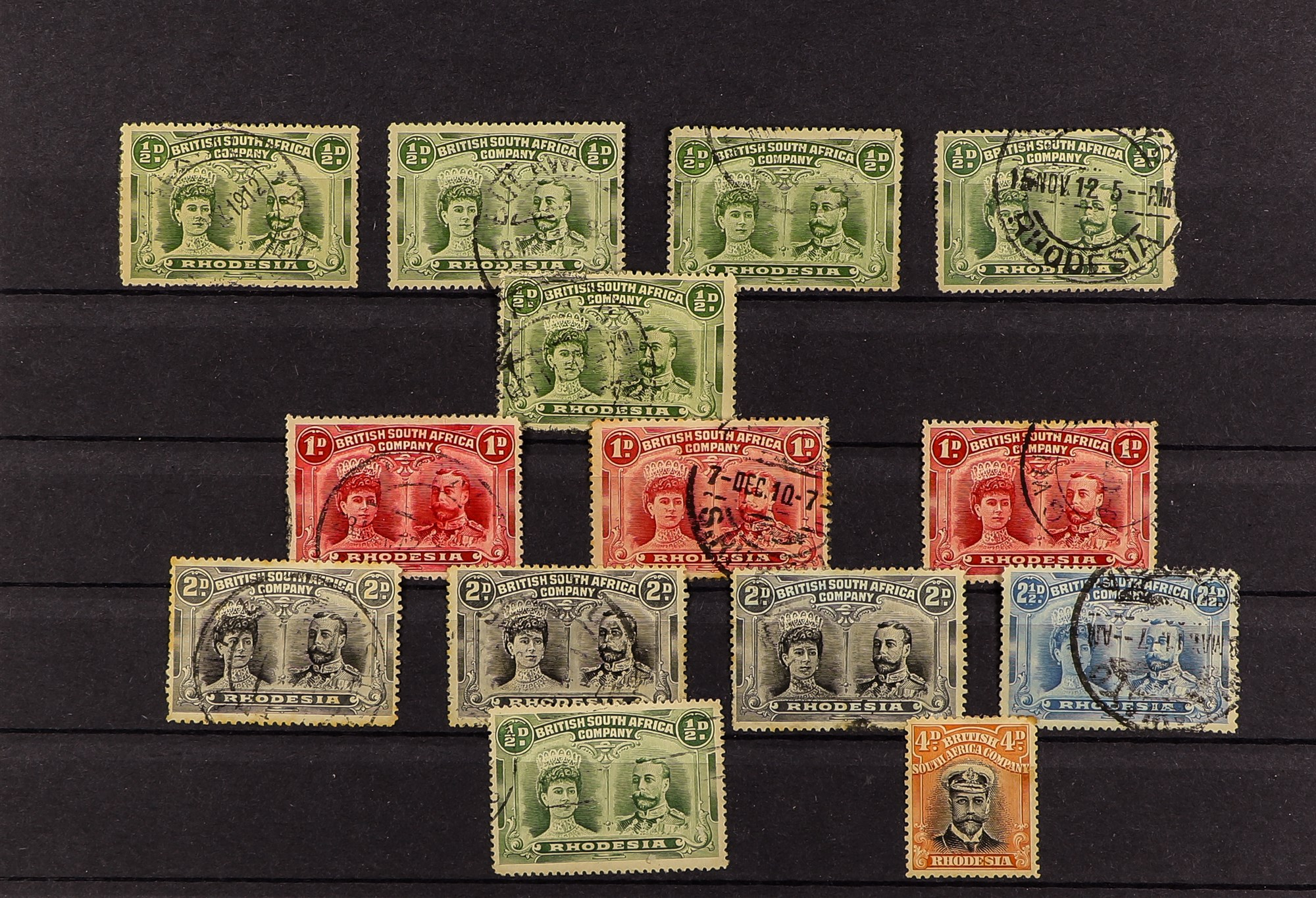 COLLECTIONS & ACCUMULATIONS COMMONWEALTH AND GB accumulation on pages and stock cards, S.T.C. £3000. - Image 4 of 5