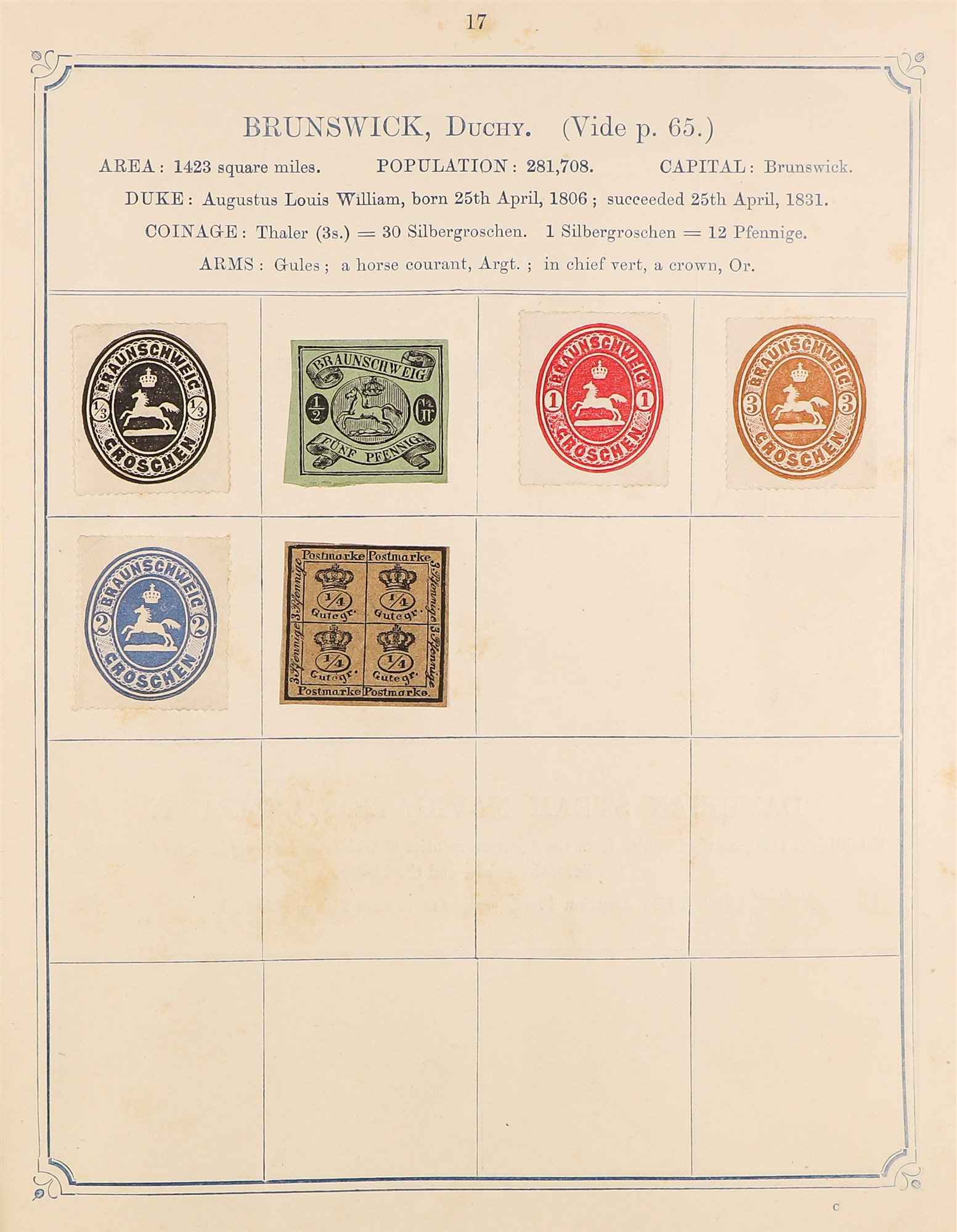 COLLECTIONS & ACCUMULATIONS OPPENS ALBUM OF WORLD CLASSICS 1870 with very mixed condition stuck down - Image 2 of 12