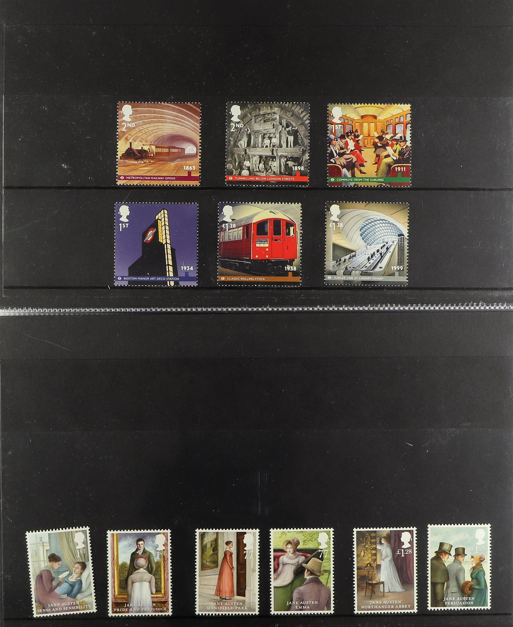 GB.ELIZABETH II 2013 - 2020 COMPREHENSIVE MINT COLLECTION which includes the commemorative stamp